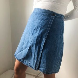Vintage Jean Skort